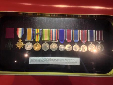 Norman's medals