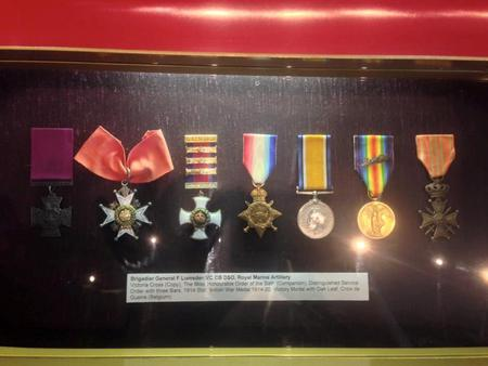 Frederick's medals