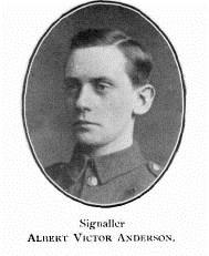 Profile picture for Albert Victor Anderson