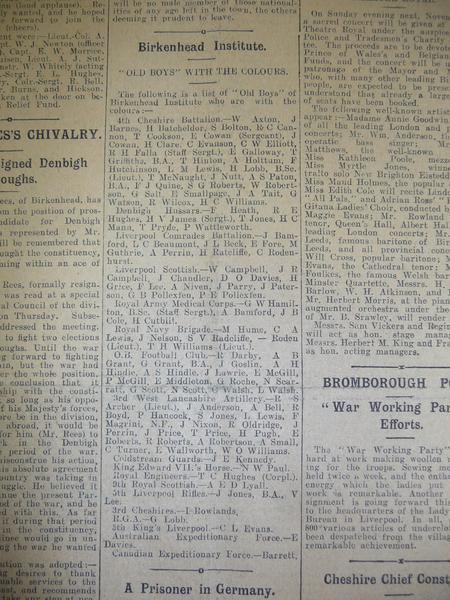 Birkenhead News story