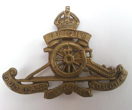 Royal Horse/Garrison Artillery Cap Badge