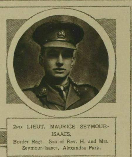 Profile picture for Maurice Seymour-Isaacs