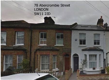 78 Abercrombie Street, Battersea, London SW11 2JD