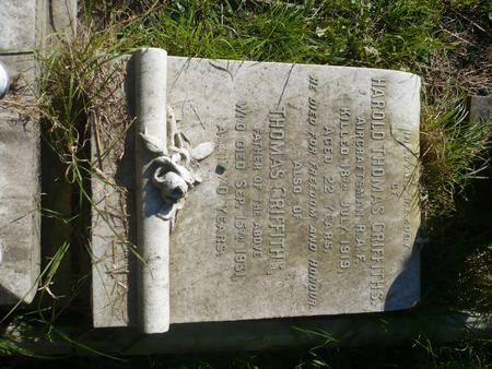 Grave in St Barnabas church yard