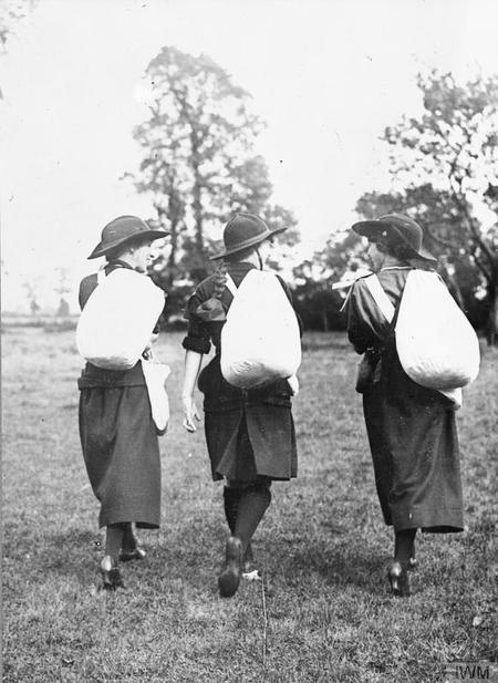 Girl Guides by Horace Nicholls, IWM Q 30967