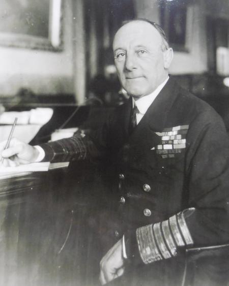 Admiral Jellicoe, First Sea Lord