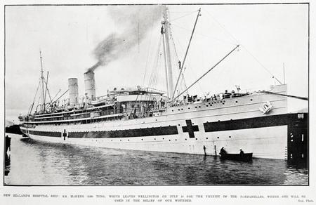 The Hospital Ship Maheno
