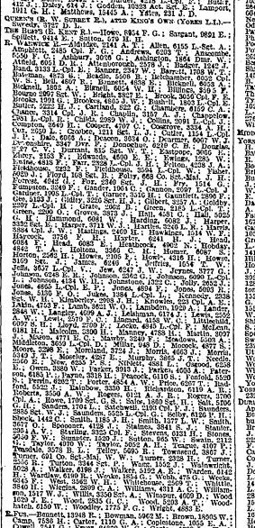 The Times - 28th August 1916