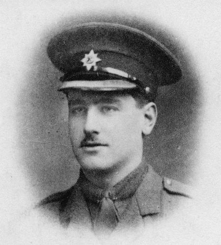 Portrait photo of Second Lieutenant John Kipling