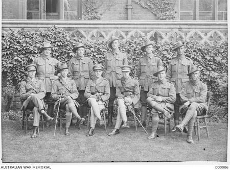 Walter Peeler with other VC recipients