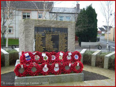 War Memorial, Rich Hill, Co. Armagh