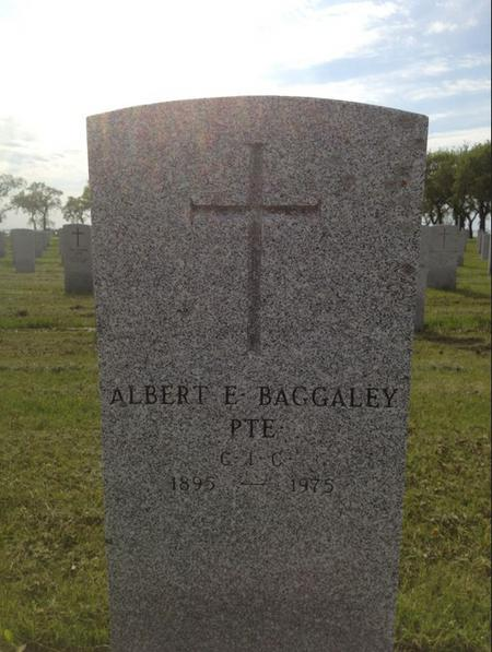 Profile picture for Albert Edward Baggaley