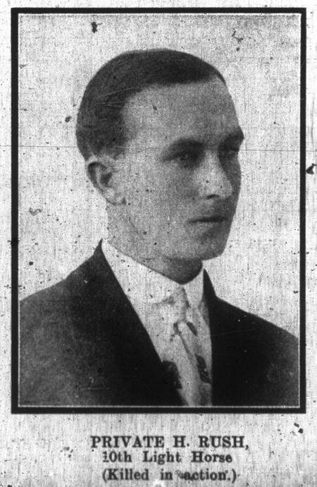 Profile picture for Harold Rush