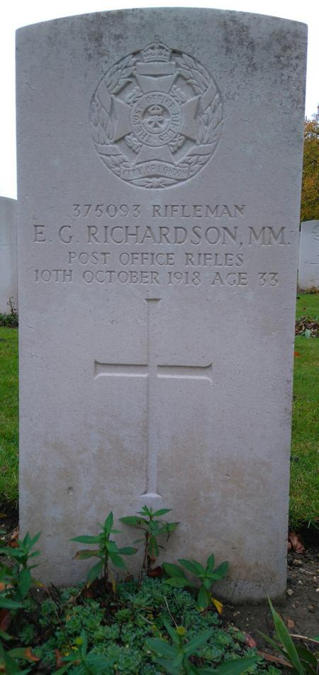 Profile picture for Edward George Richardson