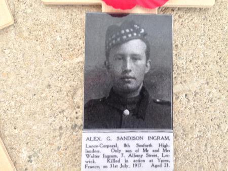 Profile picture for Alexander G Sandison Ingram