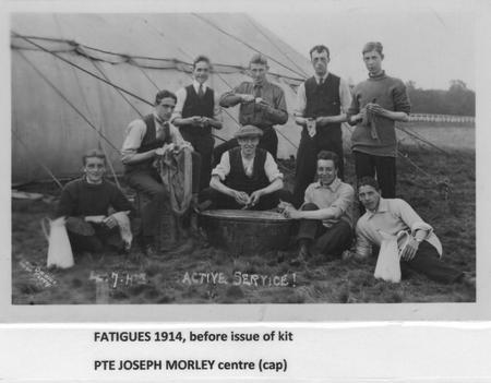 Pvt, Joseph Morley