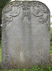 agatha's gravestone