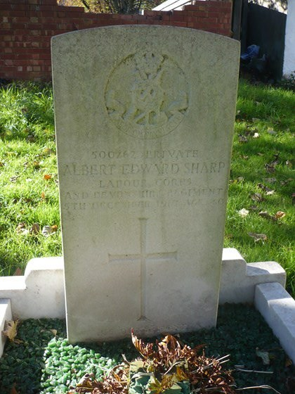 Profile picture for Albert Edward Sharp