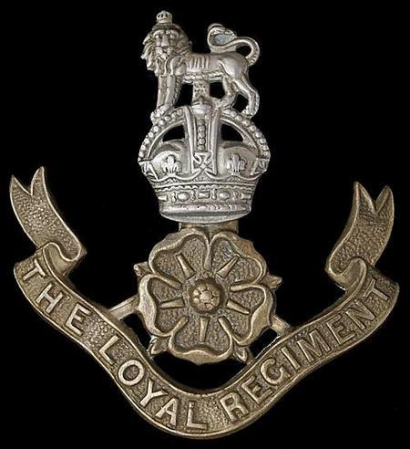 Cap Badge of the Loyal Lancashire Regiment