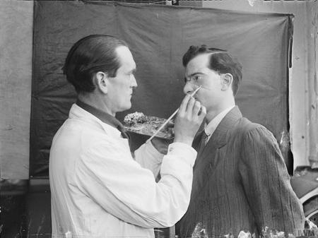 Plastic surgery during the First World War