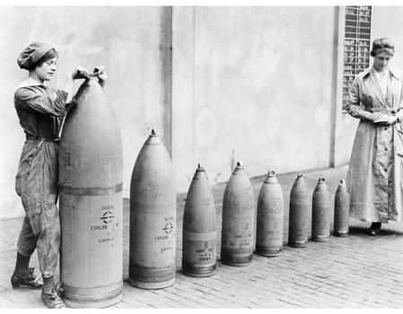 Munitions production on the home front