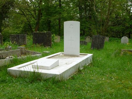 Grave of Sir Fabian Ware at Amberley, Glos.
