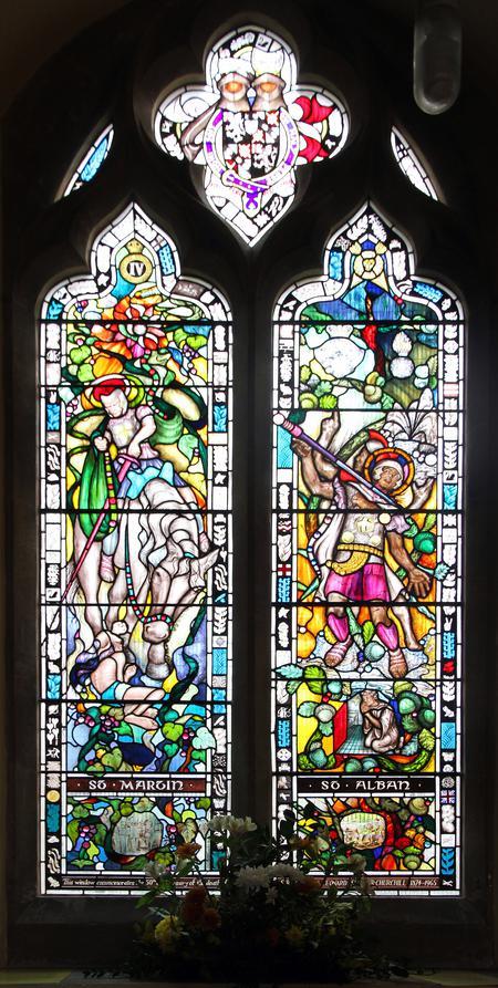 Chrchll Memorial Window