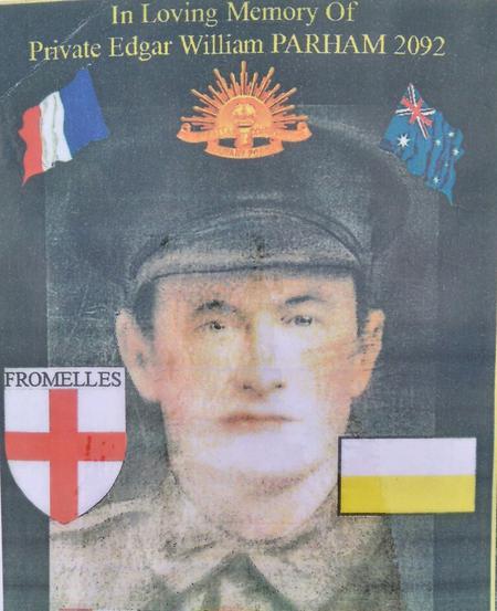 Profile picture for Edgar William Parham