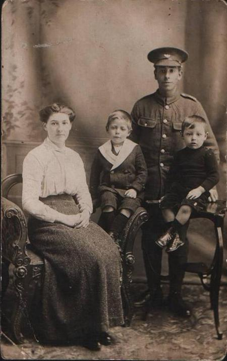 Family photograph before going to war