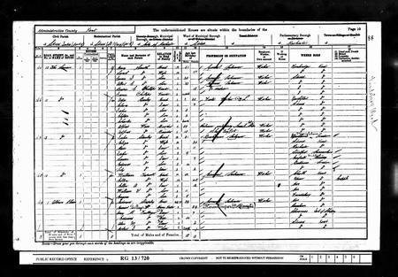 England 1901 Census