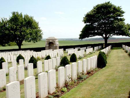 Gordon Dump Cemetery, Somme, France