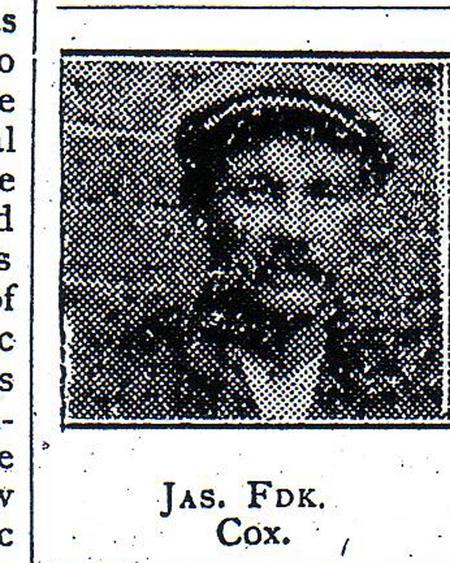 Profile picture for James Frederick Cox