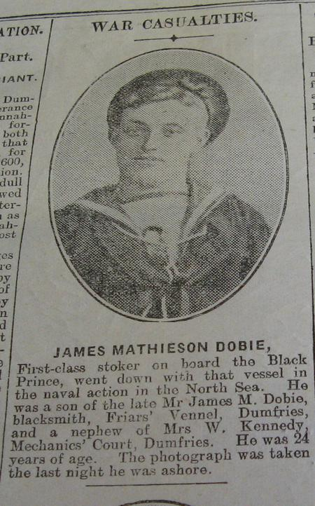 Profile picture for James Mathieson Dobie