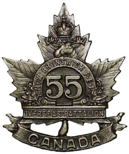 55th Cap Badge
