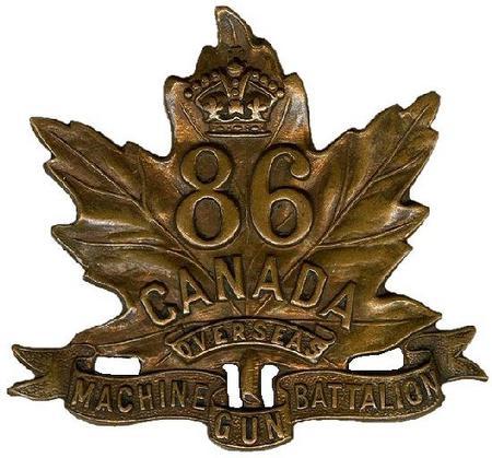 86th CEF Machine Gun