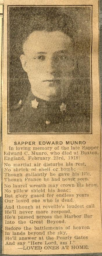 Profile picture for Edward Clinton Munro