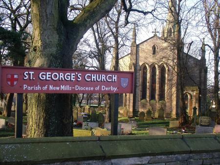 St. Georges C of E Parish Church,New Mills, Derbys