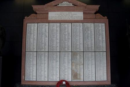 Midland Bank war memorial