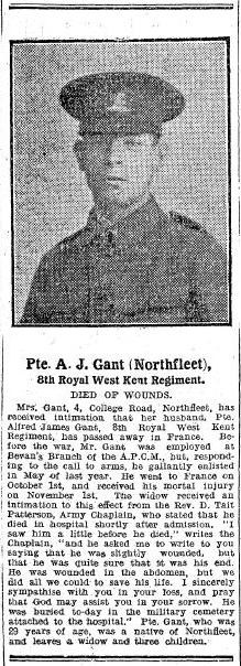 Profile picture for Alfred James Gant