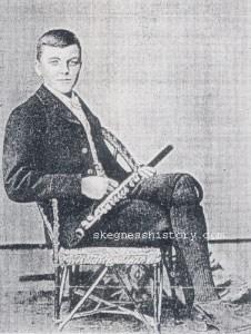 Eli Hudson as a young boy