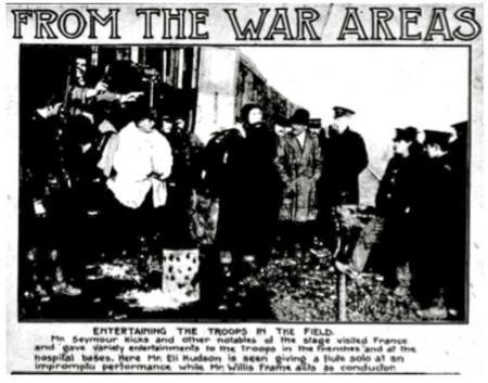 Cutting from a newspaper 1915