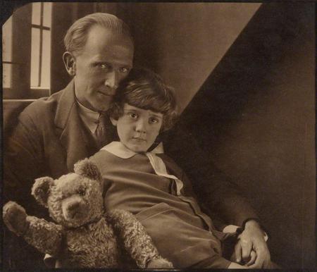 A.A. Milne; Christopher Robin Milne