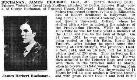 Profile picture for James Herbert Buchanan
