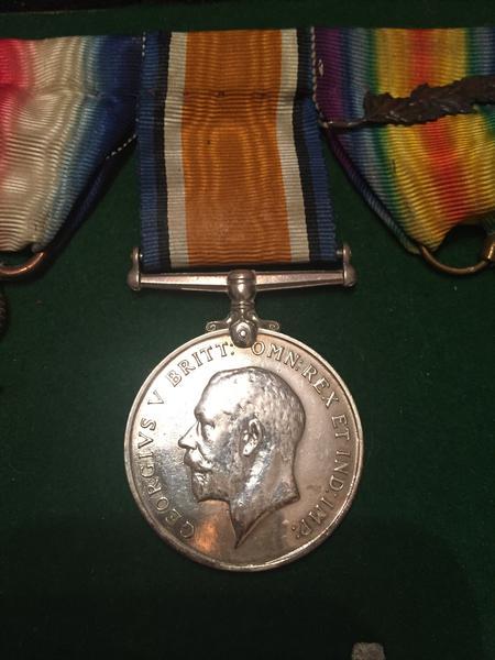 Harry Rowley British War Medal