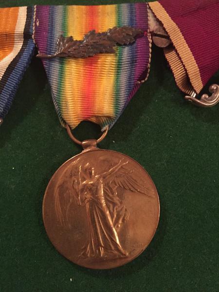 Harry Rowley Victory Medal