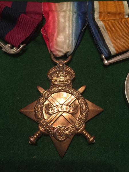 Harry Rowley 1914-15 Star