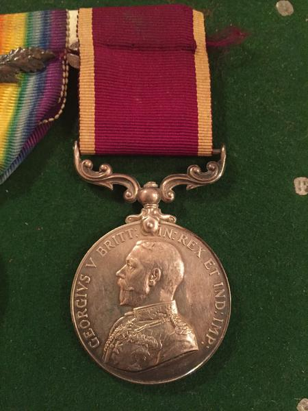 Harry Rowley Long Service and Good Conduct Medal
