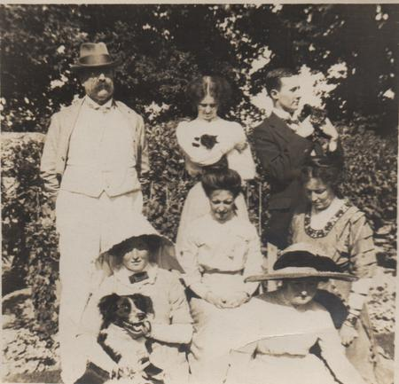 The Gladstone Family in Jersey