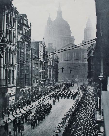 Funeral procession of John Jellicoe