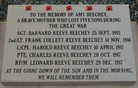 Beechey memorial